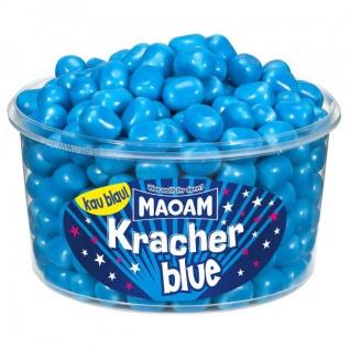 Maoam Kracher Blue Kaubonbons mit prickelnder Brausefüllung 1200g