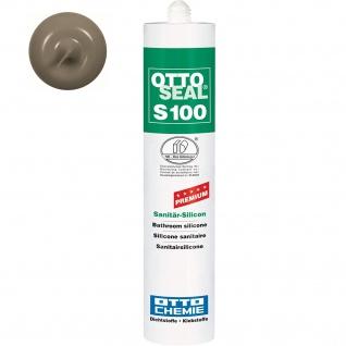 Ottoseal Premium Sanitär Silicon S 100 Farbe C 18 sanitärgrau 300ml