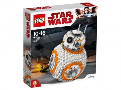 Lego Star Wars 75187 BB-8 Ein cooles Ausstellungsstück oder Spielzeug