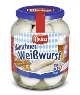 Meica 5 Münchner Weißwurst Wiesn Wirt nach einem Originalrezept 345g