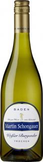 Baden Martin Schongauer Weißer Burgunder Weißwein trocken 750ml