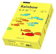 Kopierpapier Rainbow gelb DIN A4 160g
