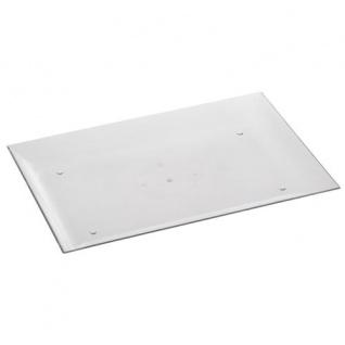"""Papstar 82166 6 Fingerfood Tabletts 26, 6 x 18 x 2 cm glasklar """" M"""" - Vorschau"""