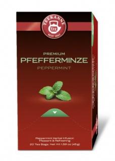 Teekanne Premium Pfefferminz Tee angenehm erfrischend 5er Pack