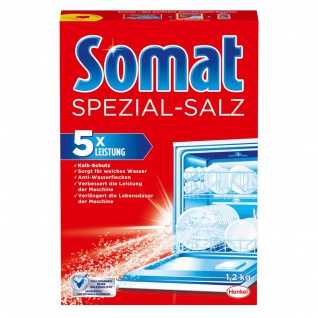 Somat Spülmaschinen Salz Wasserenthärtung Kalkschutz Inhalt 1200g