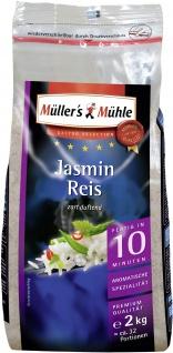 Müllers Mühle Jasmin Reis zart duftend Gastro Selection 2000g