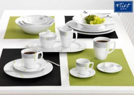Via by R&B Geschirr-Serie Vertigo Material Servierplatte oval 32, 5 cm Vertigo