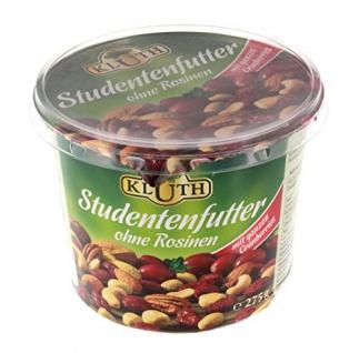 Kluth Studentenfutter ohne Rosinen 275 g