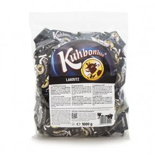 Kuhbonbons Lakritz XL Softweichlakritz Karamelle mit Salmiak 1000g