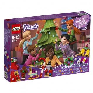 Lego Friends 41353 Adventskalender mit Weihnachtsschmuck passend zu Weihnachten