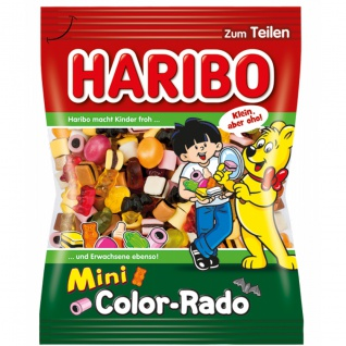 Haribo Color Rado MIni Klassiker unter den Haribo Mischungen 175g
