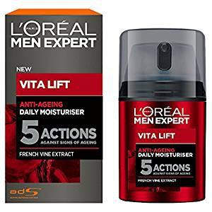 L'Oréal Men Vita Lift 5 Anti Age Total, Feuchtigkeitspflege Männer 50 ml
