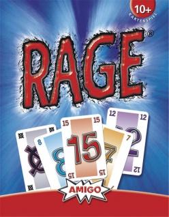 Amigo Rage Kartenspiel nur wer wirklich cool bleibt kann gewinnen