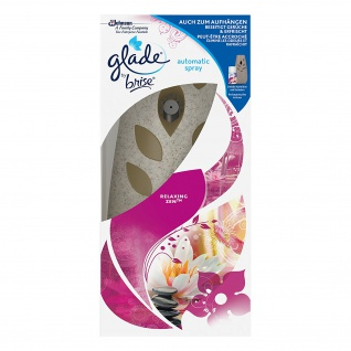 Glade by Brise Automatic Spray, elektrisches Duftspray, Original Relaxing Zen, 1er Pack (1 x 269 ml) - Vorschau