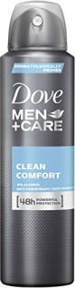 Dove Men+Care Deodorant Clean Comfort 150ml