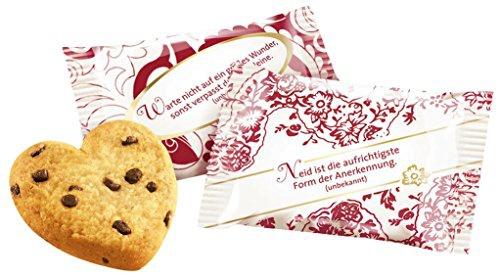 Coppenrath Tassen-Portionen Cookie-Herzen Choco mit Schokoladenstückchen 1000g