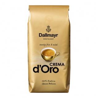 Dallmayr Kaffee Crema d Oro Ganze Bohnen samtig feine Crema 1000g