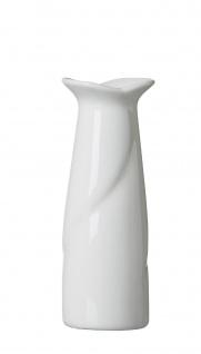 Ritzenhoff und Breker Vase aus der Serie Lupino Porzellan in Weiß