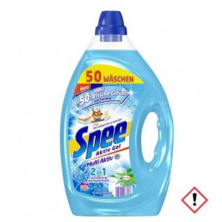 Spee Aktiv 2in1 Gel Frischer Morgen Waschmittel 2500ml 4er Pack
