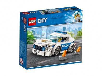 Lego City 60239 Streifenwagen empfohlen für Kinder ab 5 Jahren
