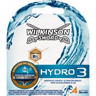Wilkinson Hydro3 Klingen 4 Stück in einer Packung für den Mann