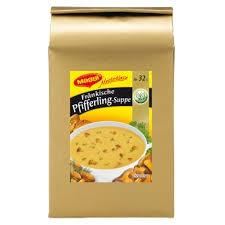 Maggi Meisterklasse Pfifferling-Creme Suppe mit feinen Kräutern 50g