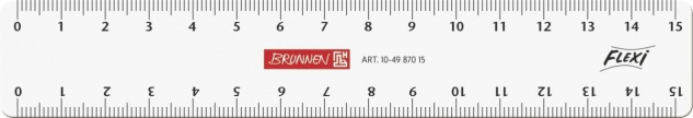 Lineal Flexi 15cm