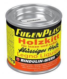 Fugenplast Wasserfester Holzkitt Farbe nussbaum Metalldose 110g