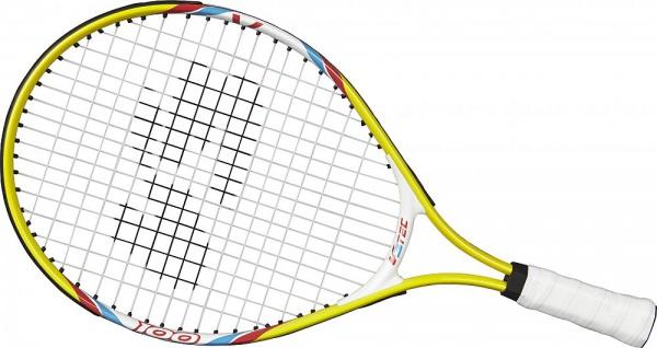 V3Tec Tennisschläger Junior 100 für Kinder Farbe weis und gelb