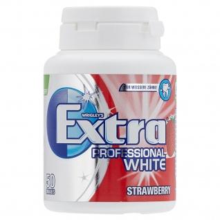 Wrigley's Extra Professional White Strawberry 50 zuckerfreie Dragees