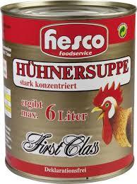 Hühnersuppe konzentriert, 1er Pack (1 x 850 ml)