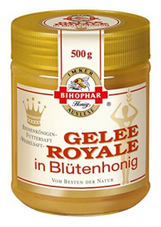 Bihophar Gelee Royale Blütenhonig 500g