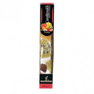 Casa Rinaldi Soft Nougat Riegel mit Früchten - italienische Spezialität 100g
