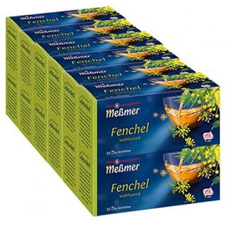 Meßmer Fenchel Kräutertee fein aromatisch 25 Teebeutel 75g 12er Pack