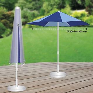 Premium Schutzhülle mehr Garten Sonnenschirm Partyschirm Durchmesser 200 - 300cm