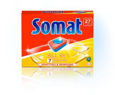 Somat 7 Multi all in 1 Tabs Spülmaschienentabs Inhalt 26 Tabs