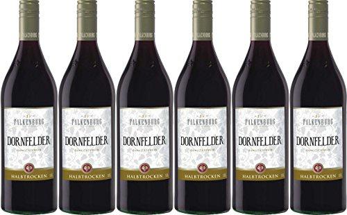 Falkenburg Dornfelder Qualitätswein halbtrocken 1000ml 6er Pack