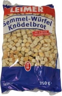 Gebrüder Leimer Semmelwürfel Knödelbrot für sechs Stück 250g