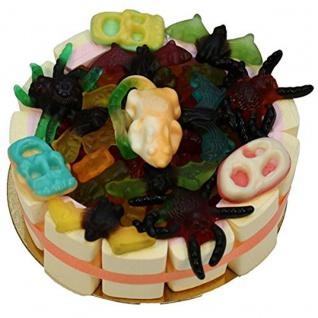 Happy Gruseltorte Halloween Torte mit Baiser und Fruchtgummi 600g