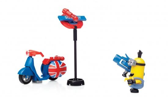 Mattel MB Minions Spielset Sort.