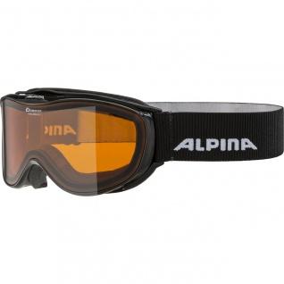 Alpina Challenge 2.0 D black Ski und Snowboardbrille Doubleflex