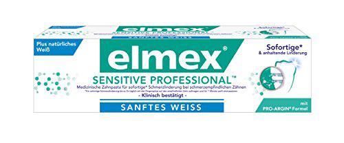 Elmex Sensitive Prof. Sanftes Weiß, 2er Pack (2 x 75 ml)