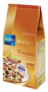 Kölln Müsli Früchte, 1er Pack (1 x 1, 7kg)