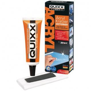 QUIXX Acryl Kratzer Entferner für Acryl und Plexiglas Oberflächen