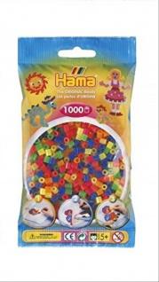 Hama Perlen NEON gemischt 1000