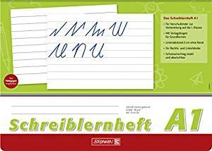 Schreiblernheft 1A DIN A4