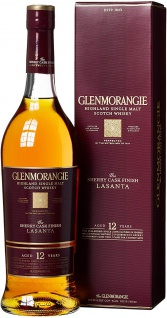 Glenmorangie Lasanta Sherry Cask Finish Single Malt Whisky 700ml