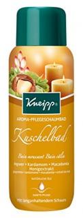 Kneipp Aroma Pflegeschaumbad Kuschelbad Ingwer & Kardamom, 3er Pack (3 x 400 ml)