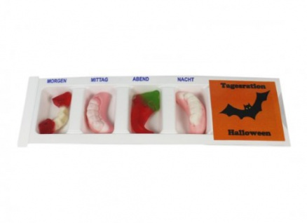 Tablettenbox Halloween Fledermaus 1 Tablettenbox