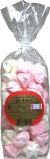 Baiser Gebäck Mini Tropfen Mix mit Vanille- und Erdbeergeschmack 100 g, 6er Pack